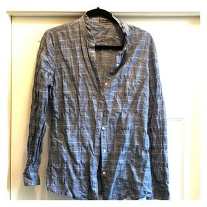 Cotton dress shirt by J McLaughlin